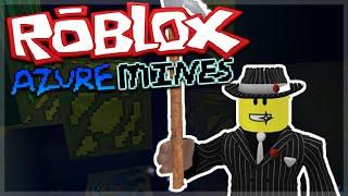 ROBLOX AZURE MINES - SECRET CAVE15,000 XP IN 2 BLOCKS!