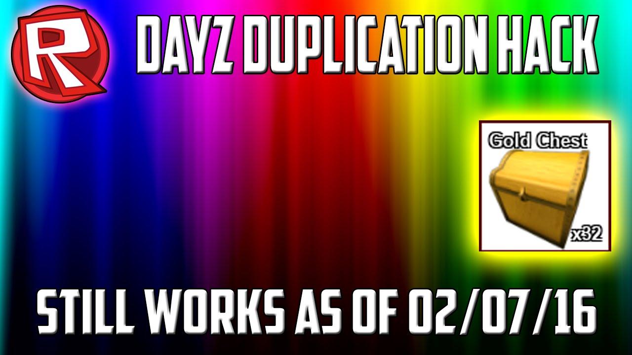 Roblox Dayz Up8 Duplication Hack Youtube
