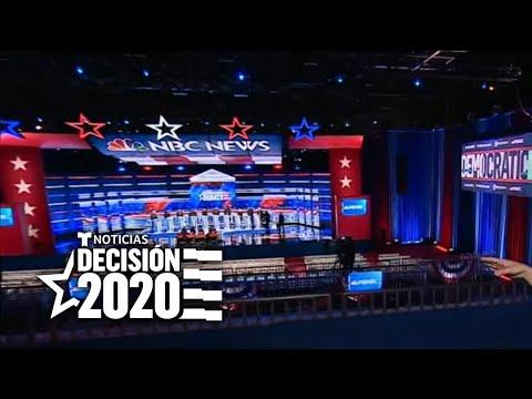 Así es el escenario del quinto debate demócrata para elegir al candidato presidencial