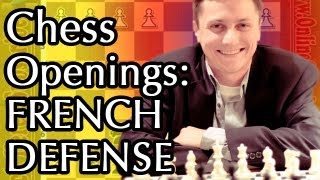 Chess Openings - The French Defense (The Steinitz Variation) - Important chess strategy