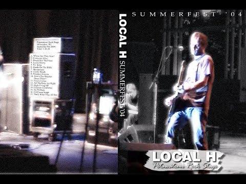 Local H  Summerfest Encore Milwaukee, 9404 FULL SINGLECAM DVD