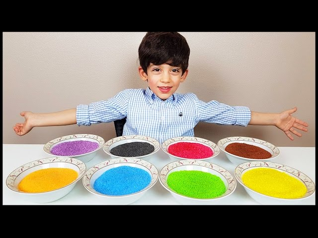 Learn Colors with Ice Cream for Children, Toddlers and Babies