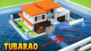 ✔ Minecraft - CASA MODERNA D'ÁGUA (DOWNLOAD) ‹ MANYA ›