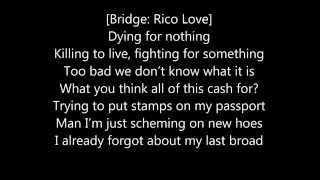 Action Bronson & Joey Badass - What About The Rest Of Us? Ft. Rico Love [LYRICS ON SCREEN]