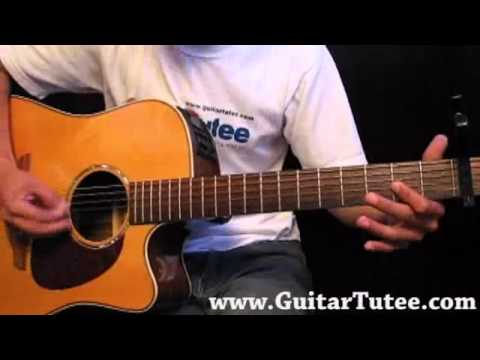 Katy Perry Teenage Dream By Guitartutee Youtube