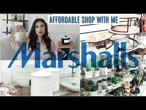 AFFORDABLE SHOP with ME at MARSHALLS HOME DECOR & Haul