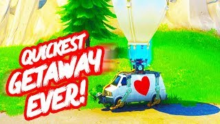 Quickest Game Of THE GETAWAY In Fortnite!