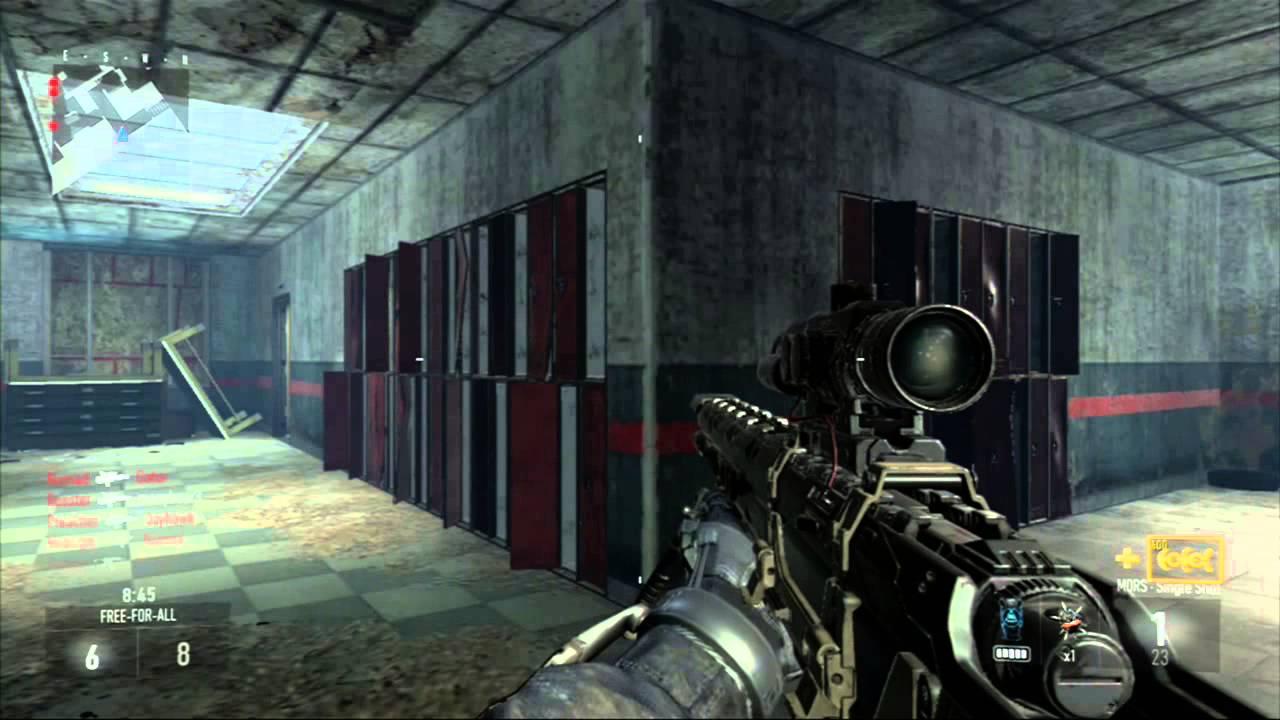 Call of Duty Advanced Warfare: Xbox 360 Gameplay Sniper ...