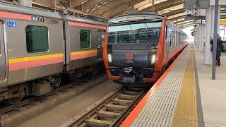 【HB-E300系】快速海里酒田行 新潟駅発車