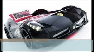 Racer Boys Car Bed - By Trendy Living