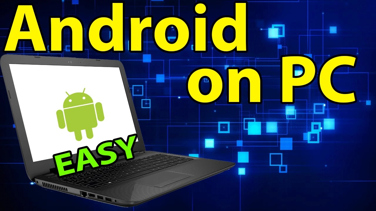 how to make android apps work on pc