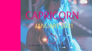 Capricorn January 2021  (Finding YOUR OWN strength) Monthly Tarot Reading