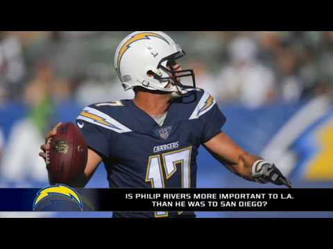 Philip Rivers is the most exciting weapon on Chargers offense