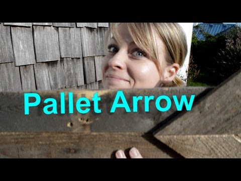 How TO make an Arrow using Pallet Wood