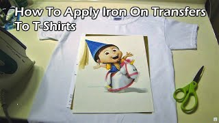 HowTo Apply Iron-On Transfers to T-Shirts