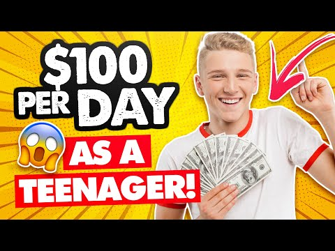 $100 Per Day – How to Make Money Online As A Teenager in 2020 (FREE & FAST!)
