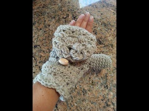 Crochet fingerless mittens or flip mittens diy tutorial youtube crochet fingerless mittens or flip mittens diy tutorial dt1010fo