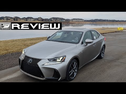 2019 Lexus IS 350 F Sport AWD Review | Starring Triple Beam Headlights