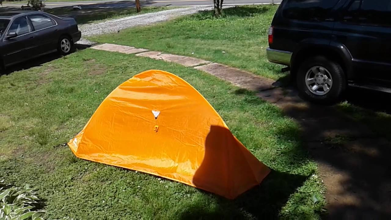 Ozark trail backpacking tent $13 ? & Ozark trail backpacking tent $13 ? - YouTube