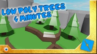 Low-Poly Tree Tutorial | Roblox Studio & Blender