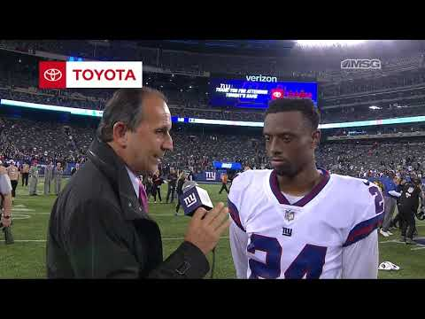 Eli Apple Goes Over Loss to Eagles | New York Giants | MSG Networks