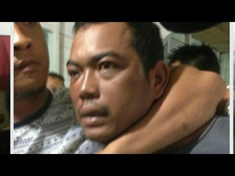 Andi Matala alias Andi Lala, otak pembunuh satu keluarga di Medan dibekuk..