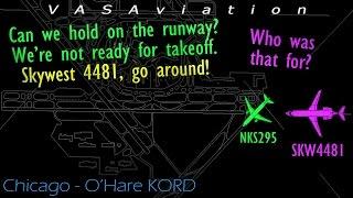 [REAL ATC] Airbus A320 & CRJ-900 CLOSE CALL @Chicago/O'Hare