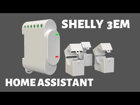 Shelly 3EM And Home Assistant