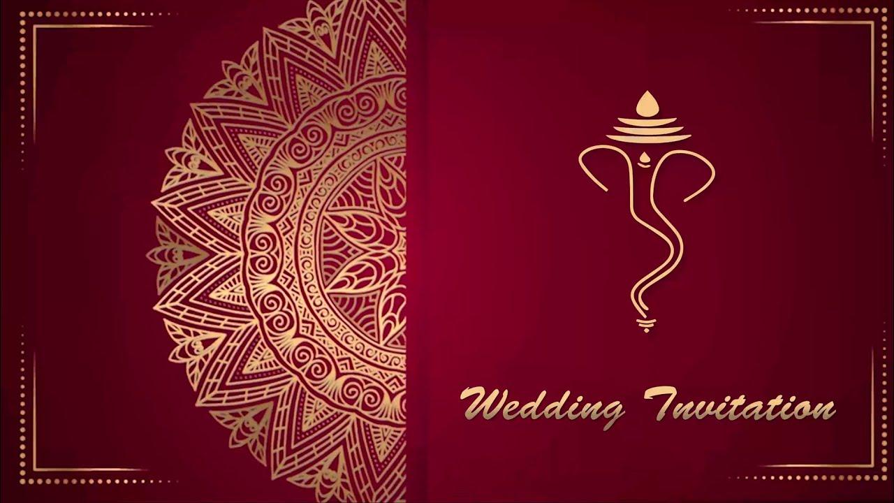 free wedding invitation video 31