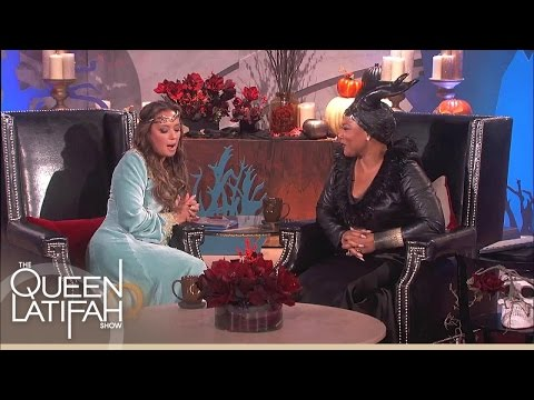 Leah Remini Kisses and Tells | The Queen Latifah Show