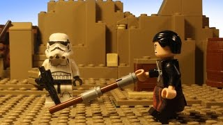 LEGO STAR WARS Rogue One - Chirrut Imwe vs Stormtroopers