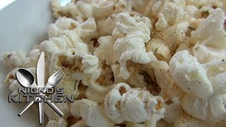 BBQ POPCORN SNACKS - Kids Recipe Thumbnail