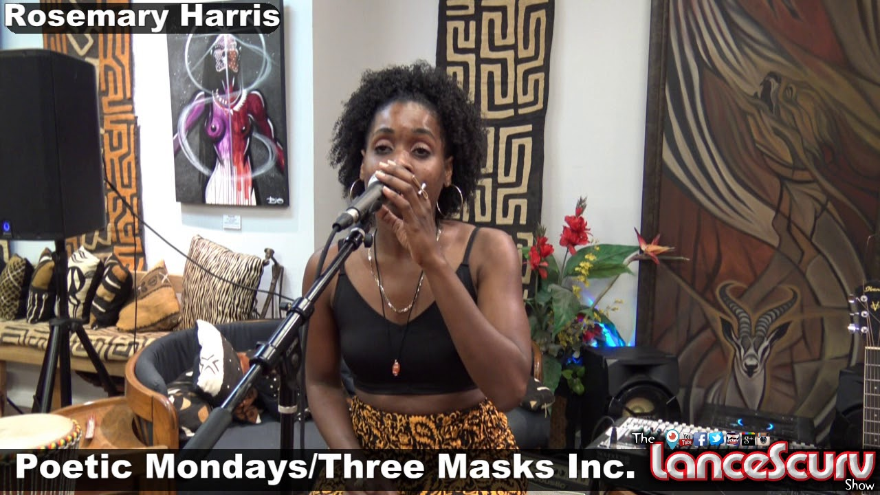 The Talented Rosemary Harris Shares Her Gift Of Song At Three Masks Inc. - The LanceScurv Show