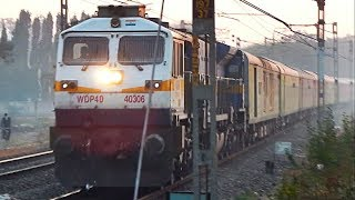 82653 YPR JP Suvidha Express Blazing Through Hadapsar At The Crack Of The Dawn