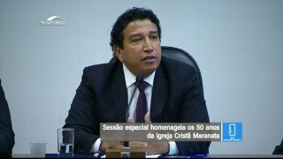 Sessão especial - TV Senado ao vivo - Plenário - 23/05/2018