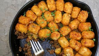 Shepherd's Pie - with Tots | SAM THE COOKING GUY