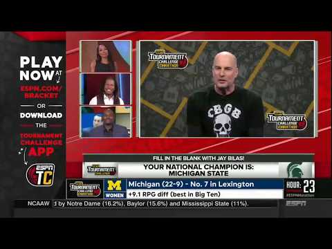 SportsNation (March 13, 2018) The topics covered in this weekday show