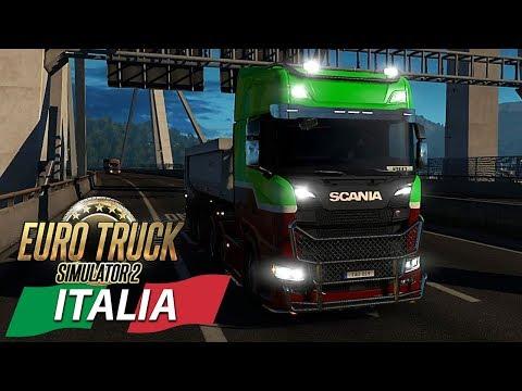 NUOVO SCANIA E SOLITO PODDY - DLC ITALIA - EURO TRUCK SIMULATOR 2 - GAMEPLAY ITA MULTIPLAYER