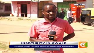 Insecurity in Kwale: 5 Mpesa shops robbed off in Diani #CitizenExtra