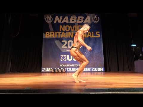Jack Connor – Competitor No 28 - Class 1 - USN NABBA Novice Britain Final 2017