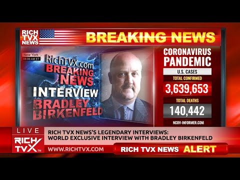 Rich TVX News's Legendary Interviews: World Exclusive Interview With Bradley Birkenfeld