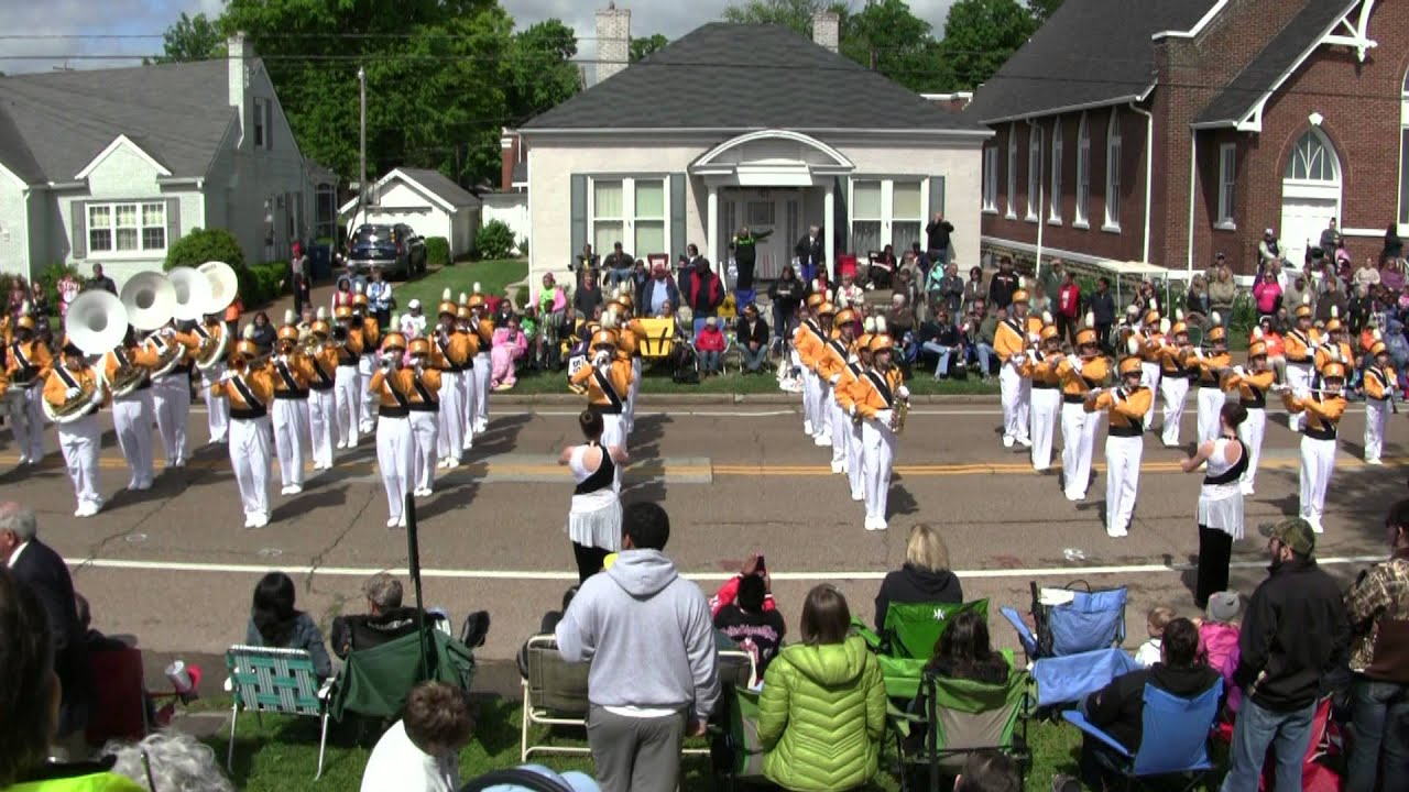 Trenton Rosenwald Middle School Band 2013 Teapot Parade