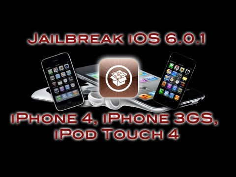NEW Jailbreak iOS 6.0.1!! (Semi) Untethered   iPhone 4, iPhone 3GS, iPod Touch 4