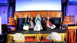 Perský tanec  skupina Šírín Dance  cestovatelský festival Kolem světa