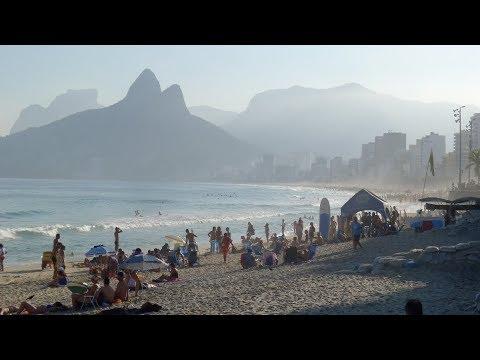 Walking in Rio de Janeiro (Copacabana + Ipanema)