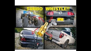 Trying Out a Fake Turbo Whistle on a Bunch of Different Cars!!
