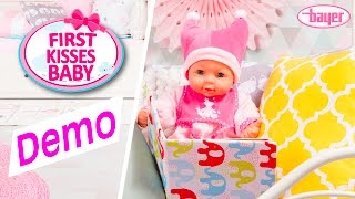 First Kisses Baby - Doll - Puppe - Demo - Bayer Design
