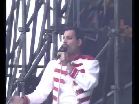 Queen - Live at Slane Castle 1986 (RTE report)