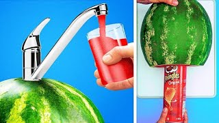 CRAZY WATERMELON IDEAS || 25 Kitchen Tips And Cooking Ideas For Any Occasion