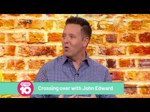 Psychic Medium John Edward On Tapping Into Your Intuition | Studio 10